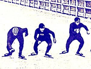 du patinage de vitesse d part group en 1932 l 39 olympisme inattendu. Black Bedroom Furniture Sets. Home Design Ideas
