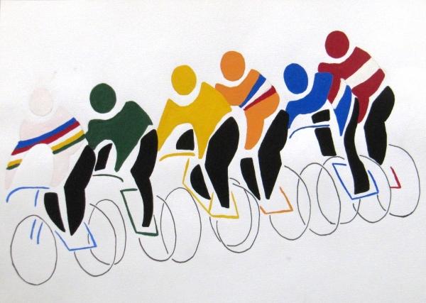6 coureurs